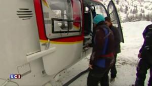 """Moniteur tué dans une avalanche à La Plagne : """"Il a fait 1.000 mètres de chute"""""""