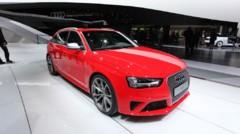 Audi RS4 au Salon de Genève 2012
