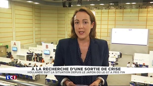 """""""Il a dit ce qu'il fallait dire"""" : depuis le G7, Hollande apporte son soutien à Valls"""