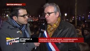 """Pierre Laurent : """"Ne pas accepter cette barbarie"""" à Charlie Hebdo"""
