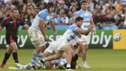 Rugby : match Argentine-Tonga, 25/9/15