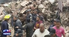 Effondrement meurtrier d'un immeuble au Caire