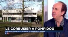 """""""Le Corbusier"""" mis à l'honneur au Centre Pompidou"""