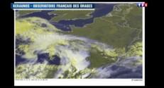 Un déluge de grêle s'abat sur Biarritz !