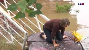 Crue de la Seine : les habitants des péniches en première ligne
