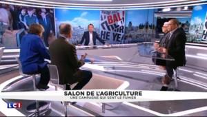 """Hollande au Salon de l'Agriculture : """"On le sentait terrorisé, impuissant"""""""