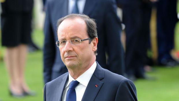 Hollande en Normandie pour les cérémonies d'anniversaire du débarquement