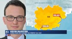 """Incendie à Fréjus : """"19 hectares brûlés, 300 pompiers mobilisés"""", les précisons de la préfecture"""