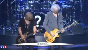 Les Insus sur scène le 27 avril 2016 à Amiens.