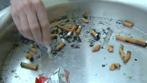 Cigarette tabac fumer tue clope taf blonde cendrier
