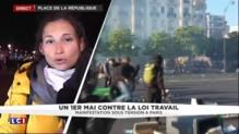 Défilé du 1er mai : des casseurs présents place de la République