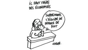 Dessin de Charb du 3 juillet 2012