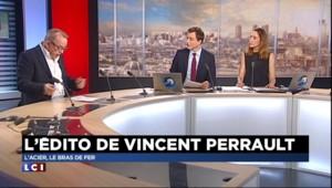 L'édito éco de Vincent Perrault : l'acier, le bras de fer