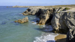 La presqu'île de Quiberon en Bretagne.