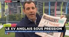 Mondial de rugby : l'Angleterre sous pression avant son match contre l'Australie