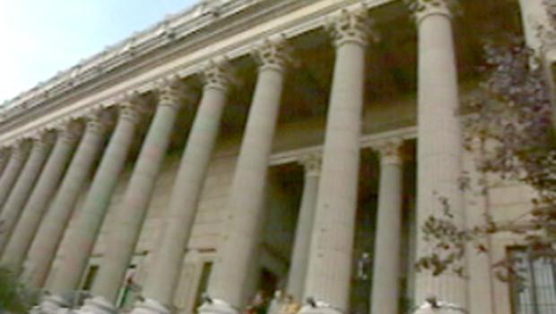 Palais de Justice de Lyon péristyle