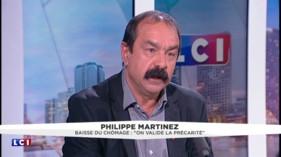 """Popularité de Macron : """"Chez les salariés, elle n'est pas évidente"""", pour Philippe Martinez"""