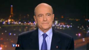 Alain Juppé au 20h de TF1 en janvier 2011.