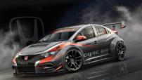 Honda Civic engagée en championnat WTCC 2014