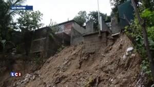 Inondations Mexique : 58 personnes portées disparues après un glissement de terrain