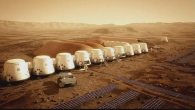 Project One reality of Mars