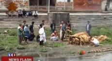 Séisme au Népal : les premières images des répliques ressenties jusqu'à New Delhi