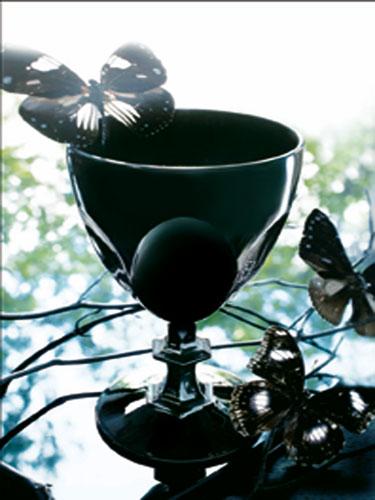 Décp verre noir opaque Cristal d'Arques