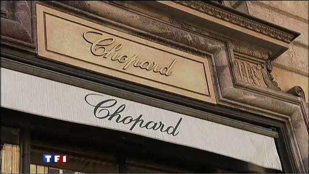 La bijouterie Chopard située sur la place Vendôme à Paris/Image d'archives