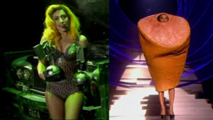 Lady Gaga Eva Longoria MTV Europe Music Awards