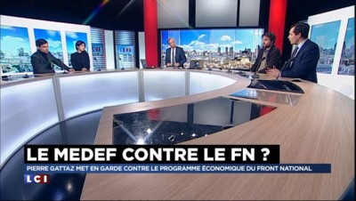 """Le programme économique du FN proche de celui de Mélenchon ? Pour Nicolas Bay, """"rien à voir"""""""
