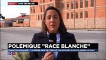 """Propos sur la """"race blanche"""" : Hollande """"intransigeant"""" dans un discours au Camp des Milles"""