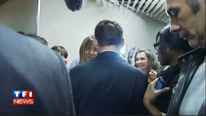 Quand Sarkozy parle de l'allaitement de sa fille : les images