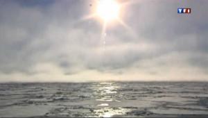 Réchauffement climatique : en 50 ans la banquise arctique a fondu de moitié