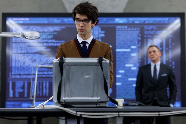 Ben Whishaw est Q dans Skyfall (James Bond)