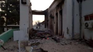 L'hôpital géré par MSF à Kunduz.