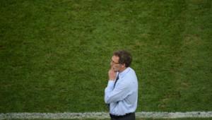 Laurent Blanc lors de Espagne-France, quart de finale de l'Euro-2012 le 23 juin 2012.