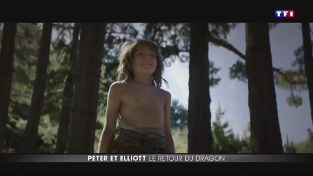 Peter et Eliott, le retour d'une amitié entre petit garçon et un dragon