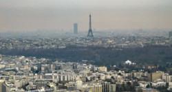 pollution air parif paris tour eiffel particules fines