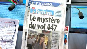 revue presse crash airbus air france