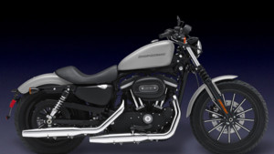 Photo Harley Davidson Iron 883 - 2009 - Grise