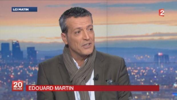 Edouard Martin candidat PS aux élections européennes.