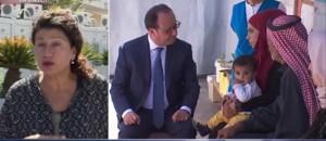"""Hollande à la rencontre des réfugiés syriens : """"Un sentiment d'accélération"""""""