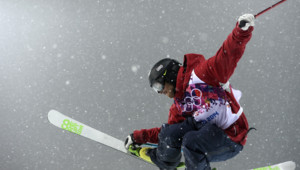 Le Français Kevin Rolland a décroché le bronze à l'épreuve de ski half-pipe aux Jeux de Sotchi.