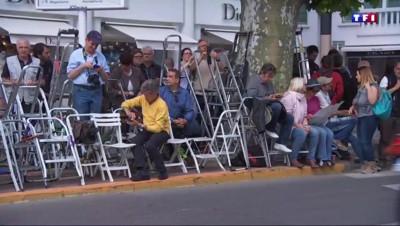 Le gang des escabeaux de retour à Cannes