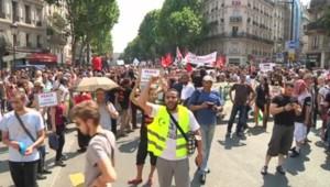 Manifestations de soutien en France aux Palestiniens de Gaza à Paris le 19 juillet 2014
