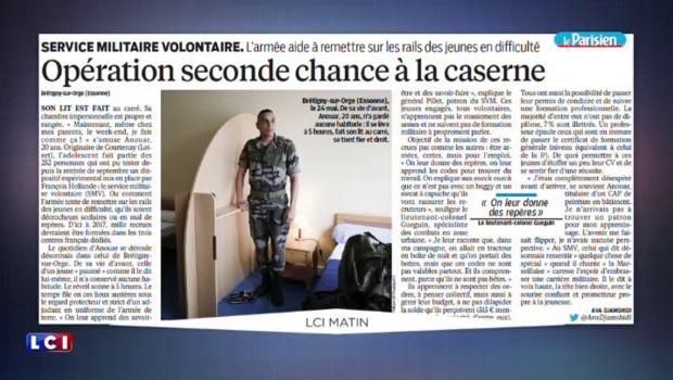 Opération seconde chance à la caserne militaire : plus de 200 jeunes en difficulté ont testé