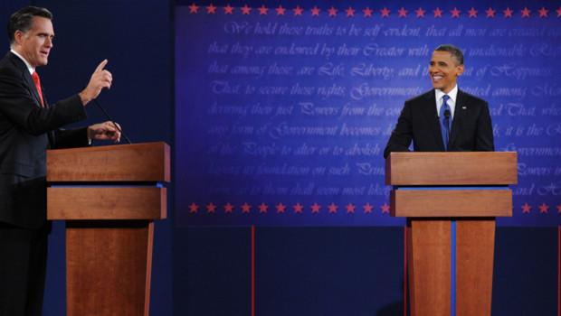 Premier débat télévisé Obama-Romney à Denver (4 octobre 2012)