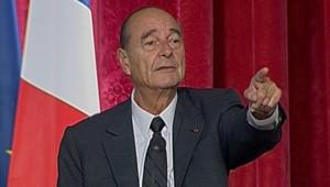 TF1-LCI, Jacques Chirac à l'Elysée le 12 octobre 2006