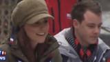 """VIDEO. Kate et son """"royal baby bump"""" passent l'après-midi chez les scouts"""