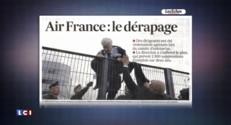 """Incidents chez Air France : la compagnie """"va dans le mur"""""""